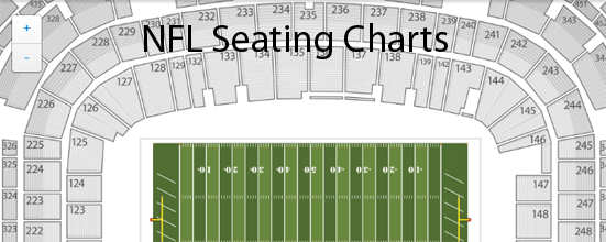 Nfl Seating Charts Stadium Maps Tba