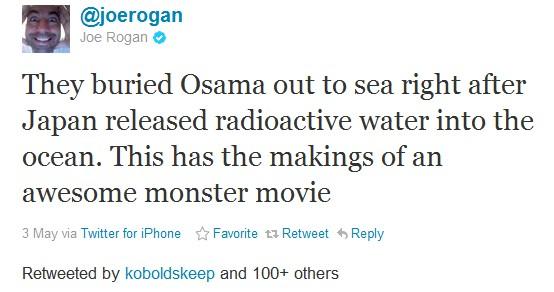 @joerogan funny tweet osama