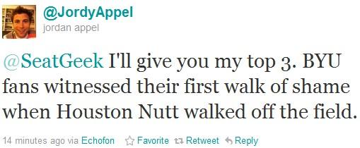 JordyAppel funny sports tweet