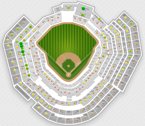 2011 World Series Game 1 Seating Chart