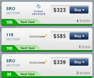 2011 World Series Game 3 Ticket Prices and Deals - TBA