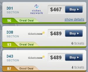 2011 World Series Game 3 Cheap Seats