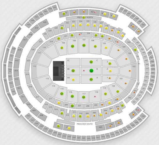 Taylor Swift Madison Square Garden Seating Chart