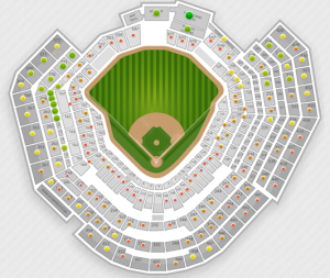 World Series Game 6 Seating Chart