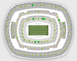 Eagles at Giants Seating Chart