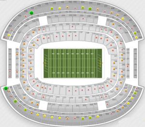 Cowboys Stadium Playoff Seats