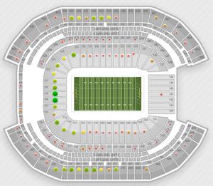 Fiesta Bowl Seating Chart