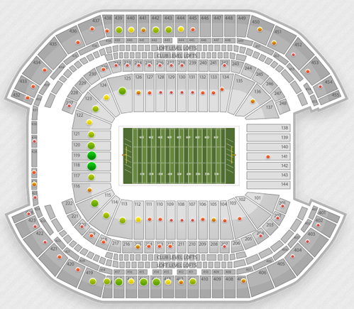 19 Awesome Sanford Stadium Seating Chart Row Numbers