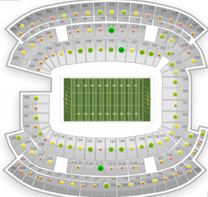 Patriots Broncos Seats