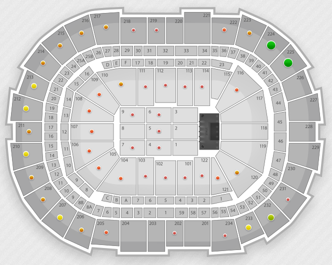 maddona seating chart pittsburgh consol engergy center