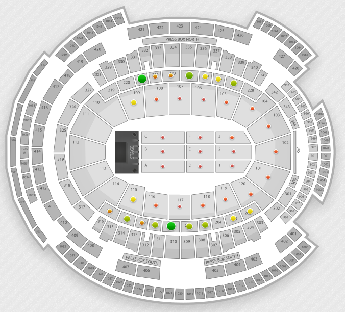 Msg Seating Chart Concert Seat Numbers: News And Entertainment: Msg Seating (Jan 04 2013 21:52:05