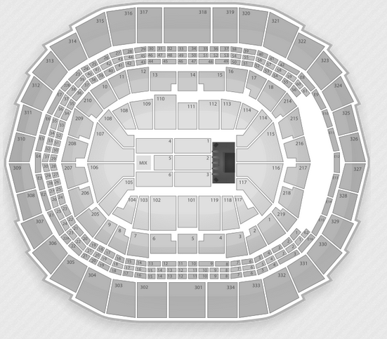 Staples Center Seating Chart Concerts