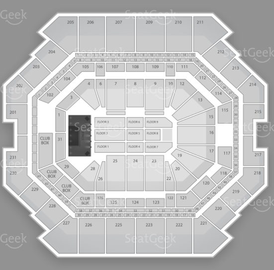 (Barclays Center) Seating Chart (Jay-Z)