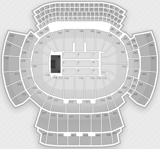 Justin Bieber Seating Chart Atlanta Philips Arena
