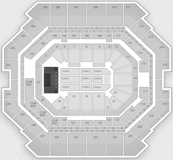 Justin Bieber Seating Chart Brooklyn Barclays Center