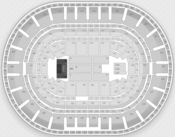 Justin Bieber Seating Chart Detroit Palace of Auburn Hills