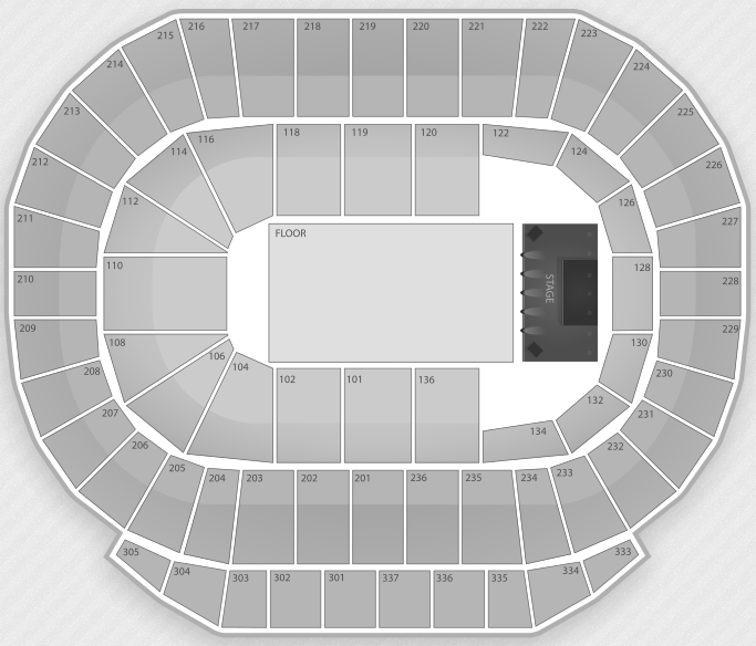 Justin Bieber Seating Chart Edmonton Rexall Place