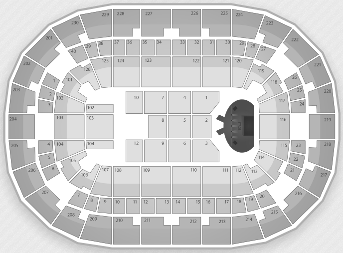 Justin Bieber Seating Chart Fresno Save Mart Center