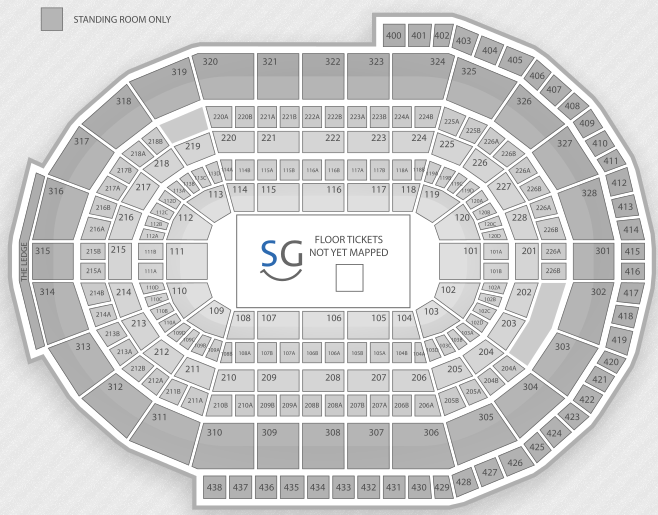 Justin Bieber Seating Chart Kanata Scotiabank Place