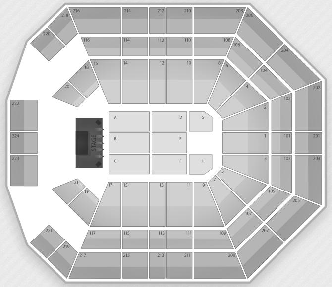 Justin Bieber Seating Chart Las Vegas MGM Grand Garden Arena