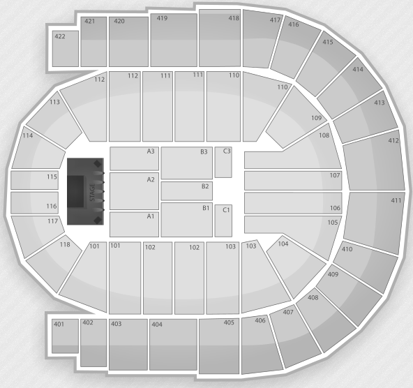 View From o2 Seats Seating Chart London o2