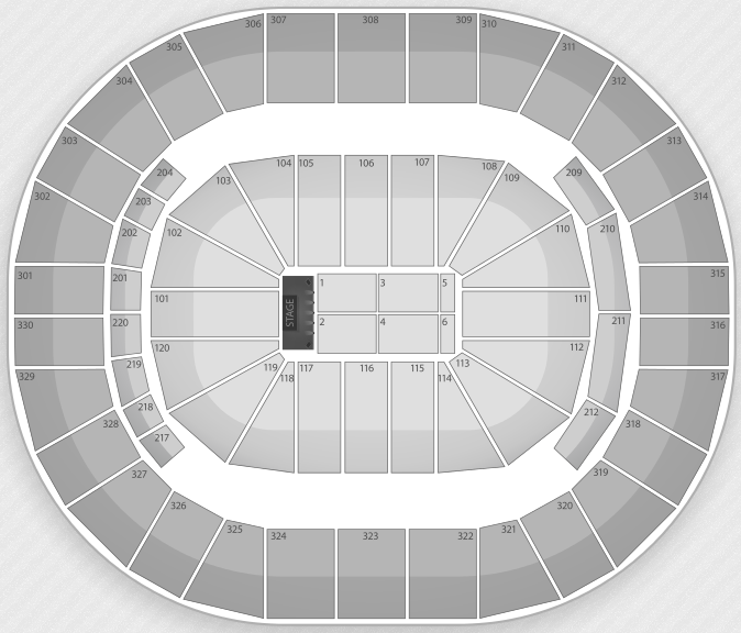 Justin Bieber Seating Chart Louisville KFY Yum! Center