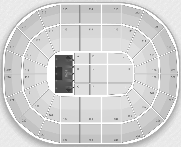 Justin Bieber Seating Chart Manchester Arena