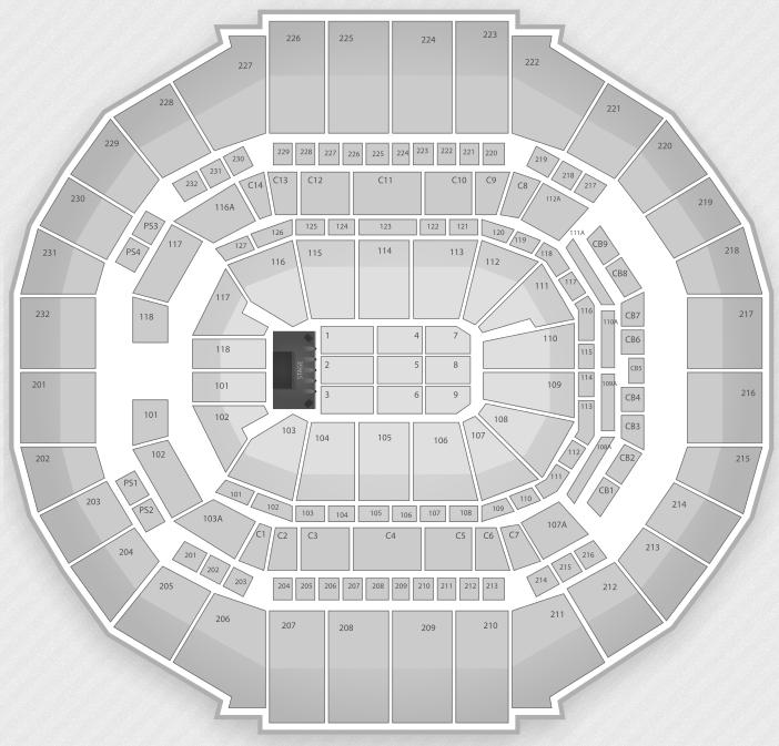 Justin Bieber Seating Chart Memphis FedExForum