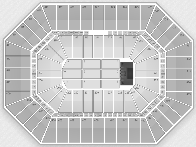 Justin Bieber Seating Chart Milwaukee BMO Harris Bradley Center