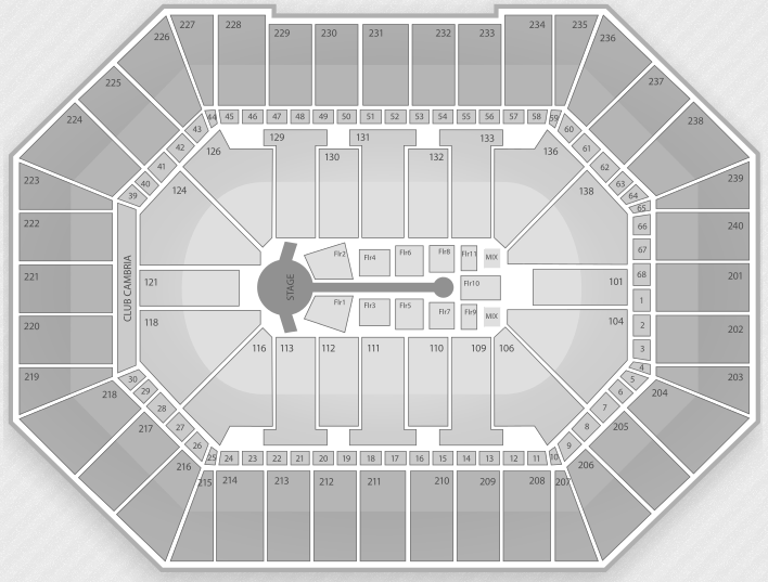 Justin Bieber Seating Chart Minneapolis Target Center