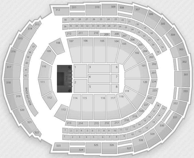 Justin Bieber Seating Chart Nashville Bridgestone Arena
