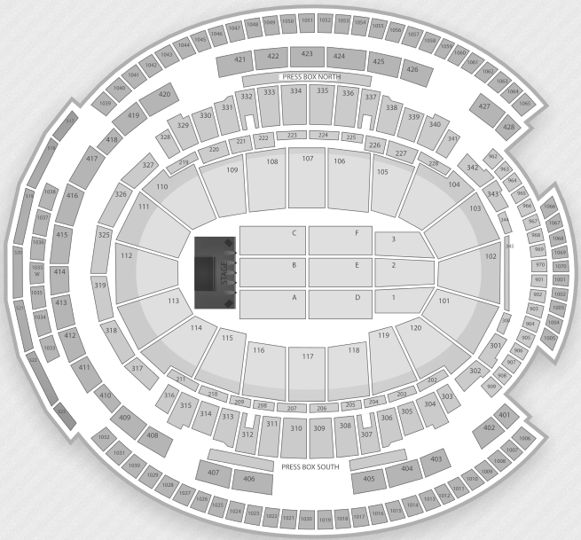 Justin Bieber Seating Chart New York City Madison Square Garden
