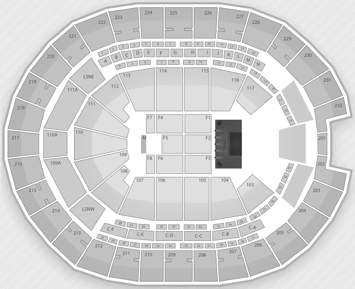 Justin Bieber Seating Chart Orlando Amway Center