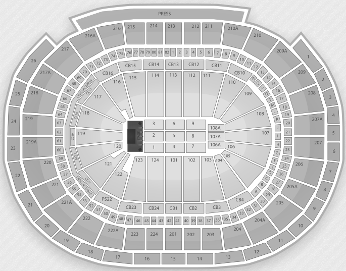 Justin Bieber Seating Chart Philadelphia Wells Fargo Center