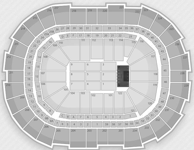 Justin Bieber Seating Chart Pittsburgh Consol Energy Center
