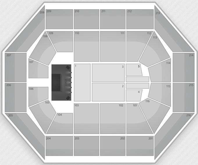 Justin Bieber Seating Chart Rosemont Allstate Arena