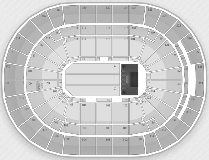 Justin Bieber Seating Chart Saint Louis Scottrade Center