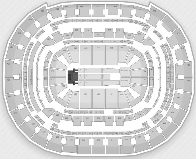 Justin Bieber Seating Chart Washington DC Verizon Center