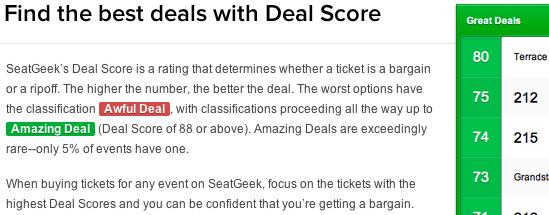 Deal Score 2
