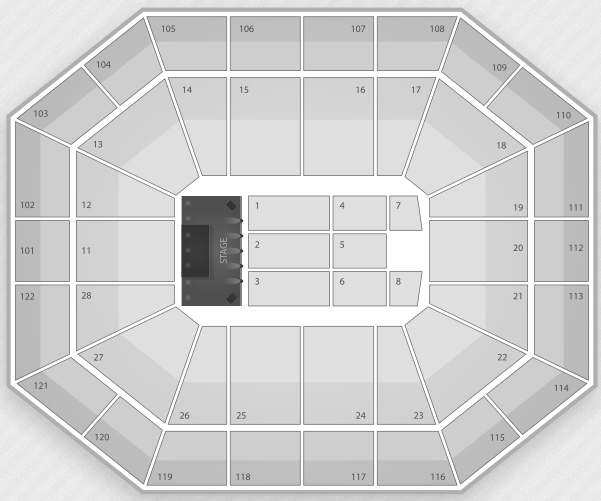 The Who Mohegan Sun Seating Chart