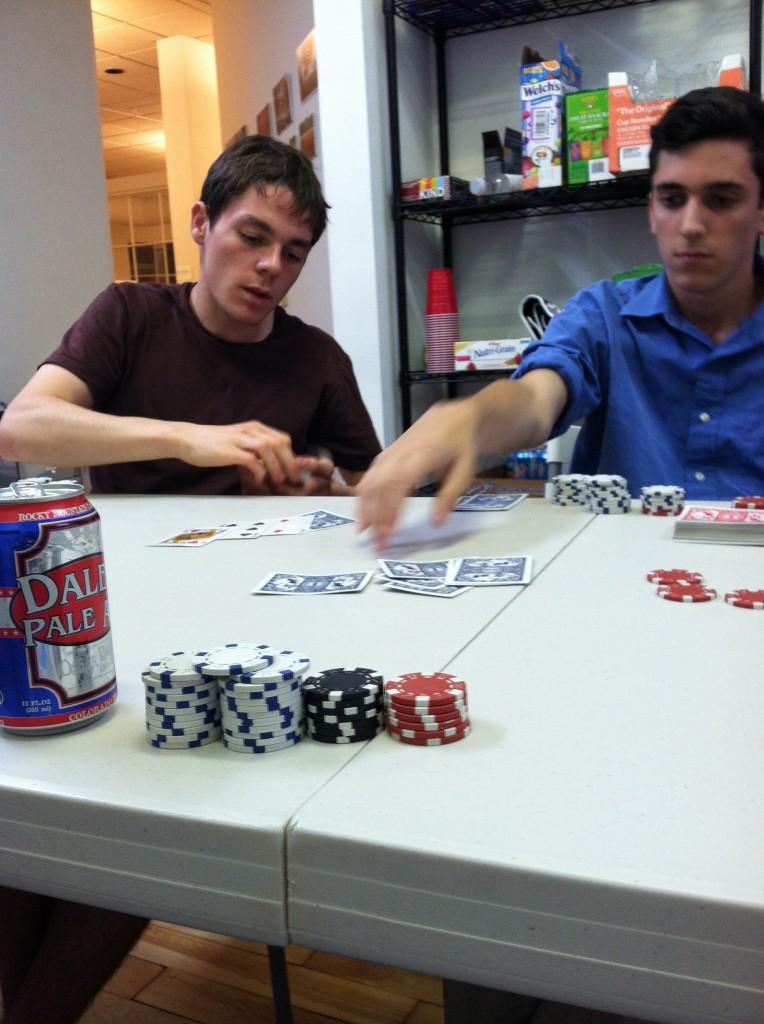 seatgeek intern poker game