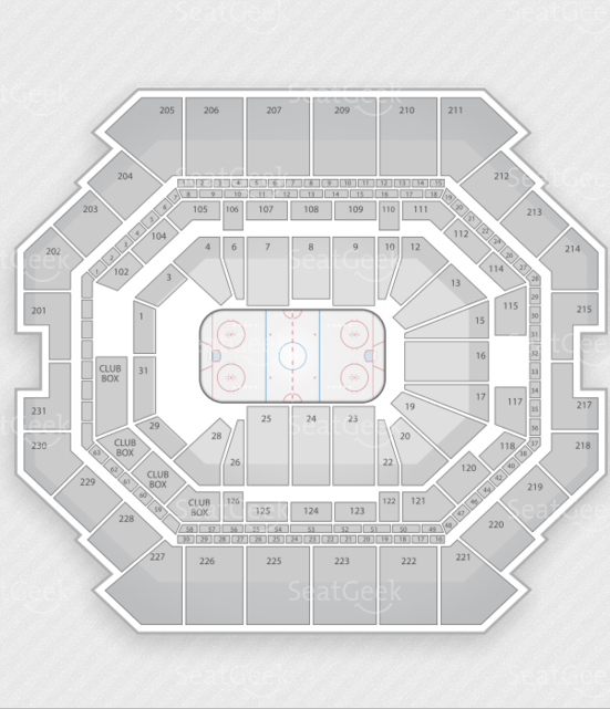 Barclays Center seating chart.