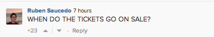 Demanding fan reacts to Gaga's tweet