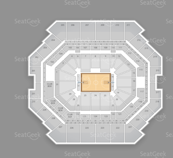 Barclays seating chart for Leonard Cohen's December 20th performance.