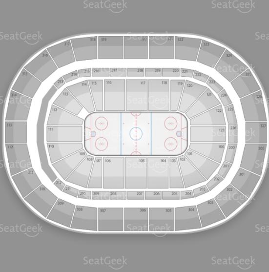 First Niagara Center seating chart for Kissmas Bash 2012.