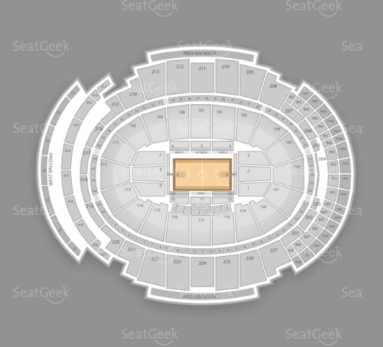 Madison Square Garden seating chart for Crossroads Guitar Festival 2013.