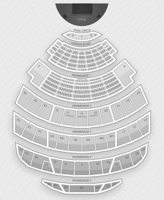 Playboy Jazz Festival Seating Chart
