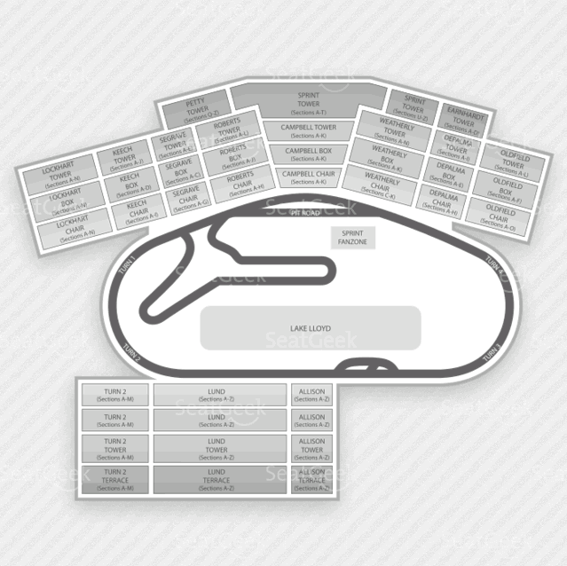 Daytona International Speedway Seating Chart