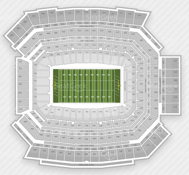Lucas Oil Seating Chart