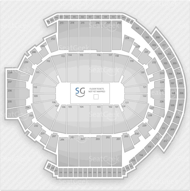 XL Center Seating Chart